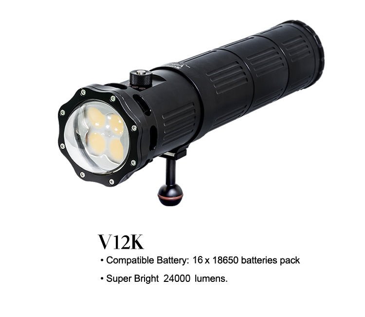 V12K Video Light (24,000 Lumens)