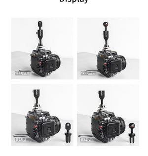 Detachable Hot Shoe Mount (BALL & YS)