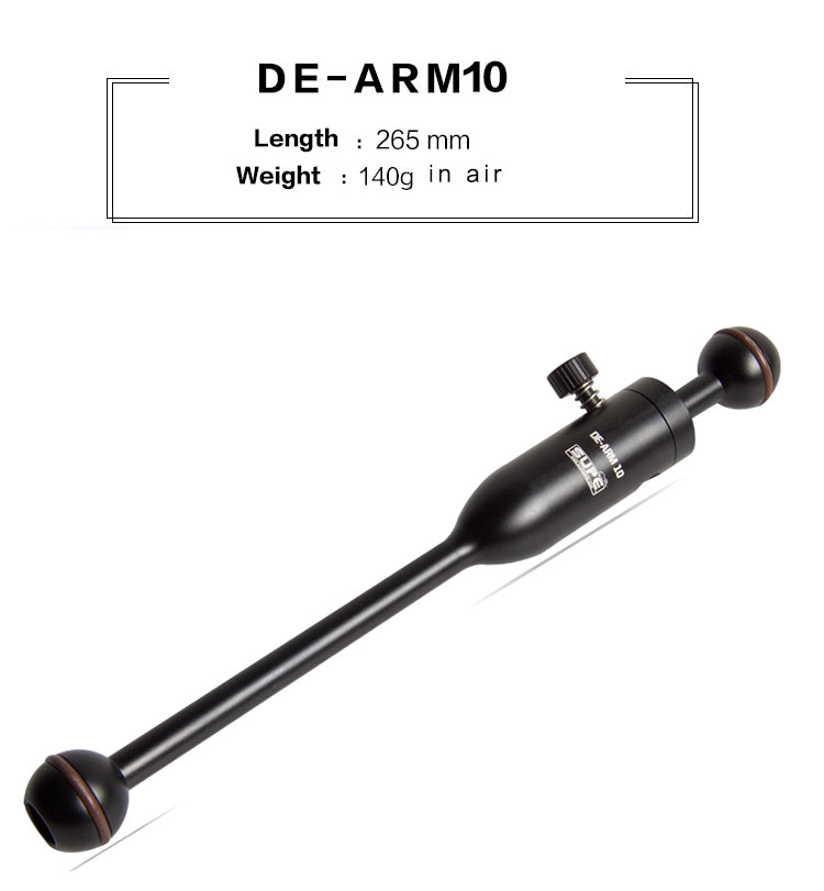 Detachable Arms (5in & 10in)