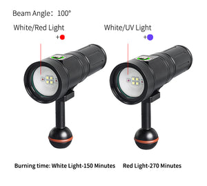 PV22 & PV22-UV (2,000 lumens) - Action Camera Video with UltraViolet