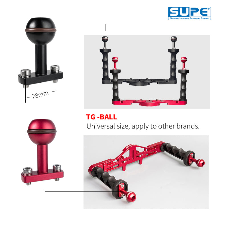 Ball Mount for Camera Tray (TG10, TG20)