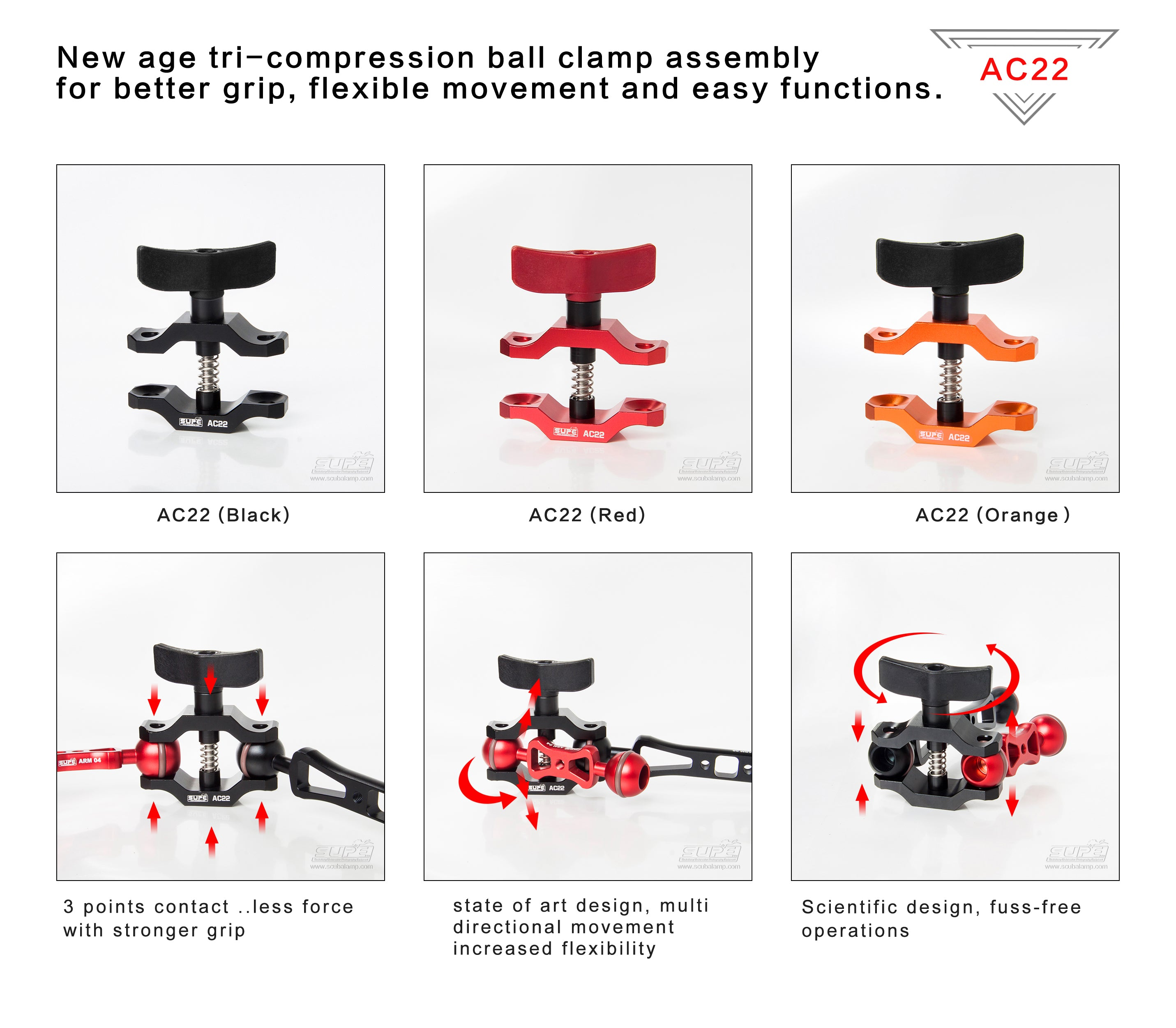 Premium Compression Clamp - (AC22)
