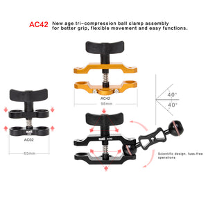 EXTENDED Premium Compression Clamp - (AC42)