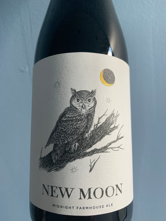 Arrowood Farms New Moon Midnight Farmhouse Ale