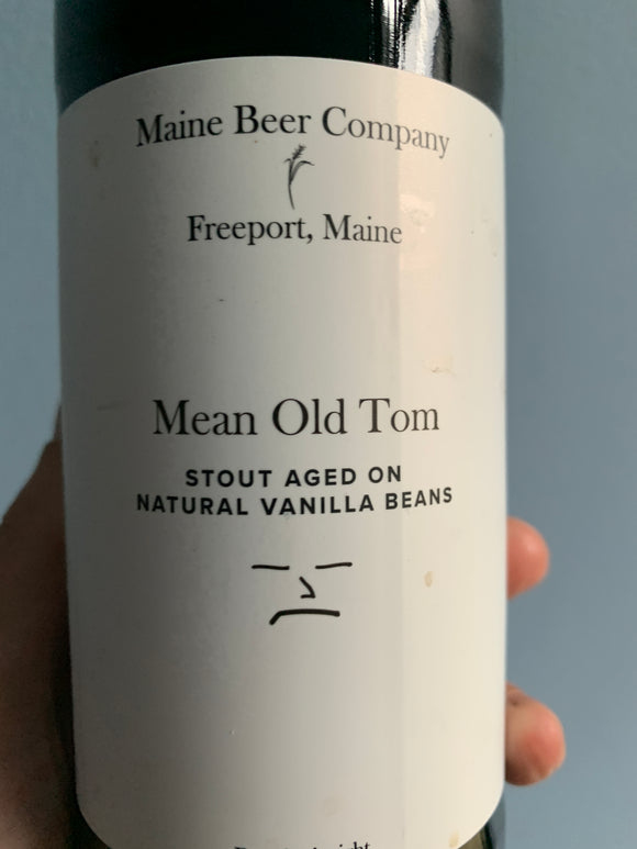 Maine Beer Company Mean Old Tom Vanilla Stout