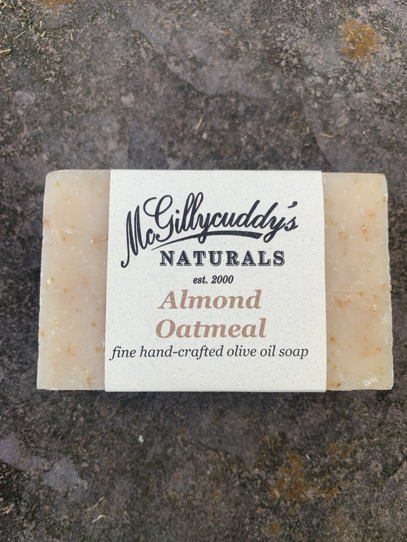 Almond Oatmeal Olive Oil Soap