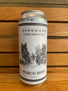 Arrowood Farm Brewery, Porch Beer, Wild Ale (16oz)