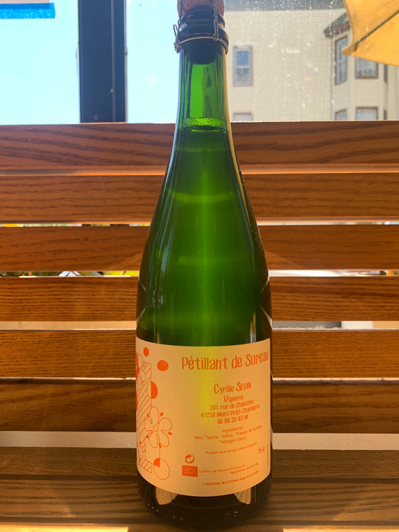Cyrille Sevin, Petillant de Sureau, Elderflower Soda (750ml)
