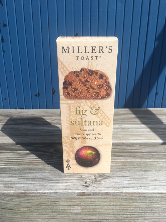Miller's Fig & Sultana Cracker.