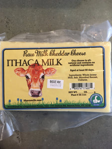 Raw Milk Cheddar Cheese