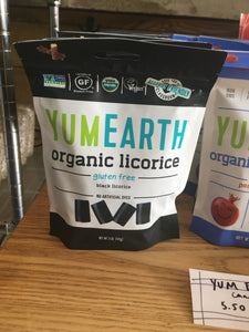 Yum Earth Black Licorice