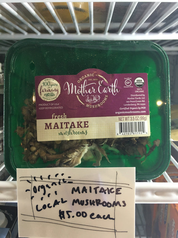 Organic Maitake Mushrooms