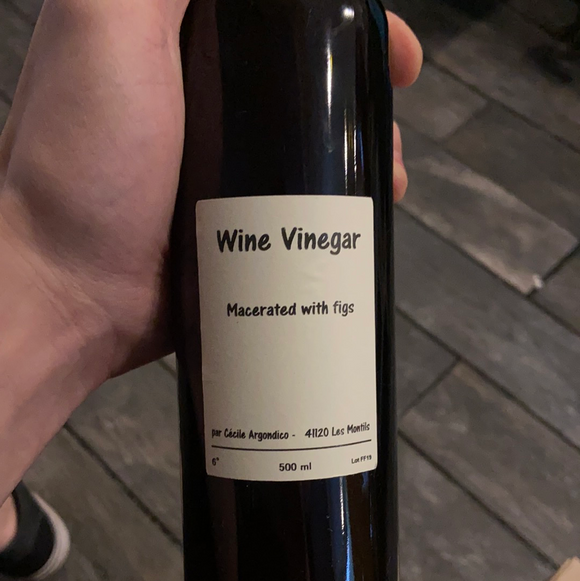 Cecile Vinegar - Wine Vinegar macerated with figs