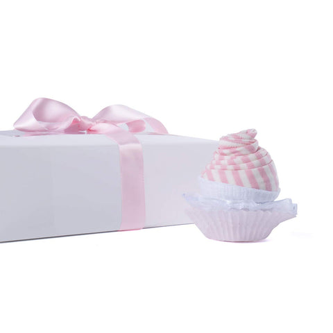 Image of Baby Girl Cupcake Gift Set