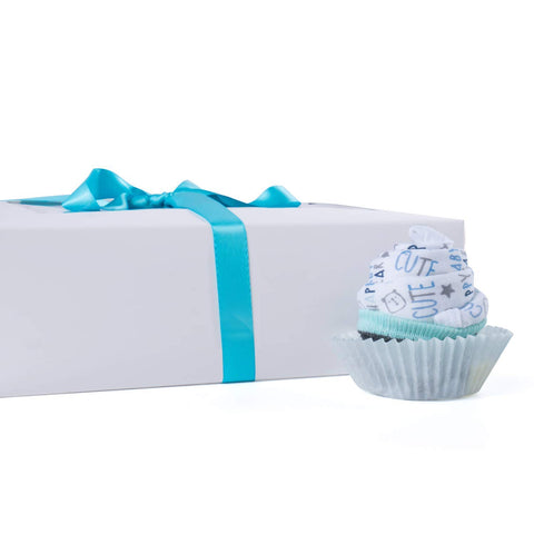 Image of BABY BOY CUPCAKE GIFT SET