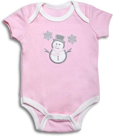 Overcomedepressionnow Onesies Baby Girl, 5-Pack Bodysuit for Girls Newborn Onesie Infant Clothes