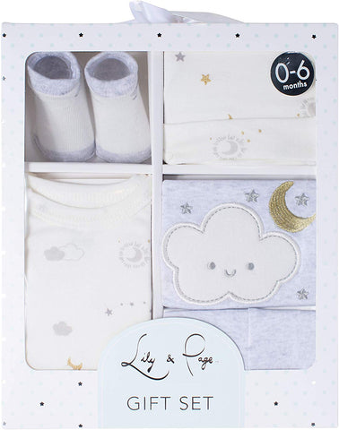 Image of Baby Essentials, 24 Piece Boy or Girl Unisex Layette Newborn Registry Gift Set