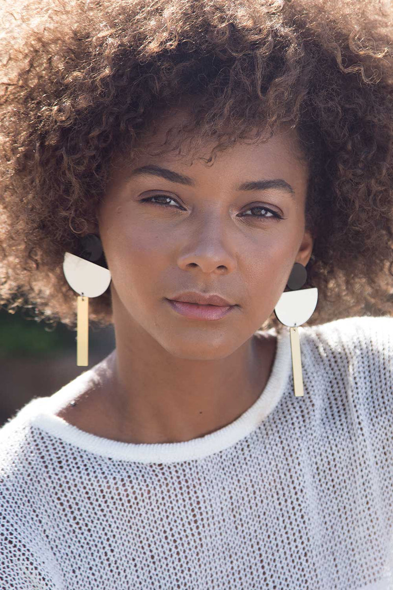Audrey Totem Earrings
