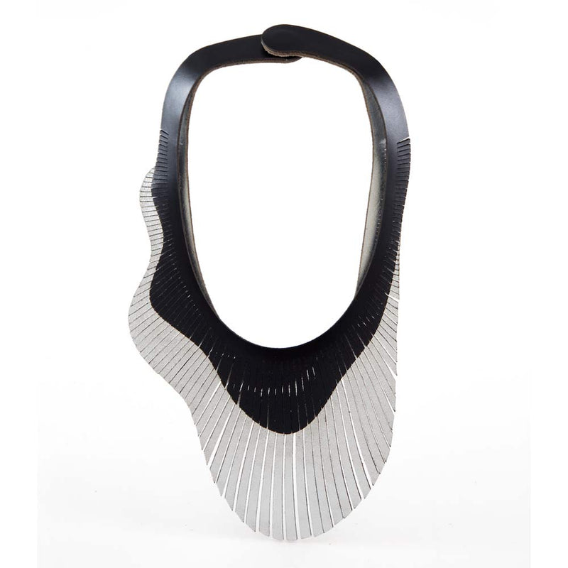 Brigitte Wave Double Necklace