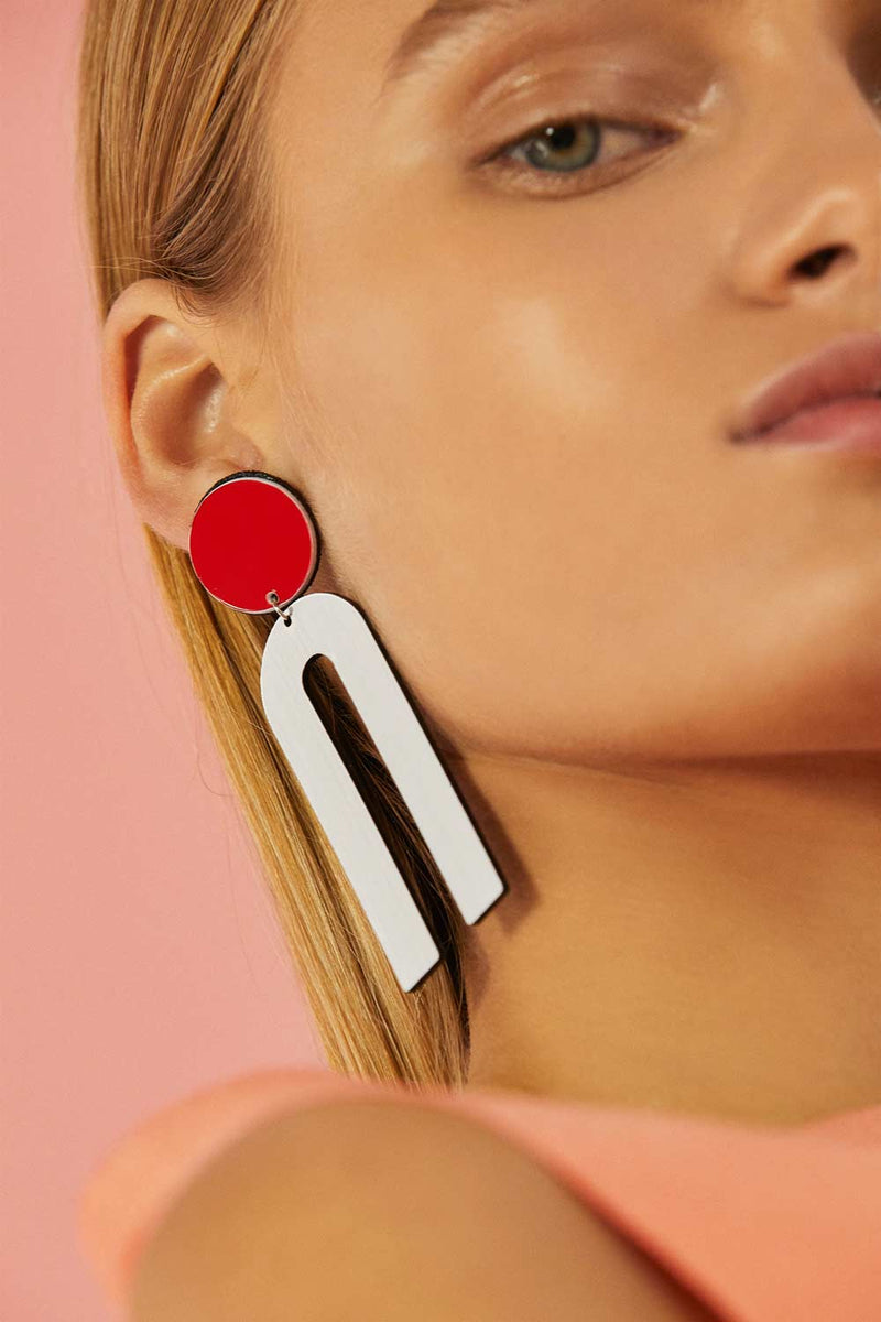 Bauhaus Earrings C