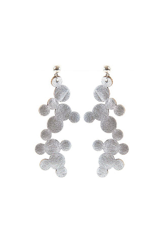 Iskin Abstraction Earrings - Large - Bubbles