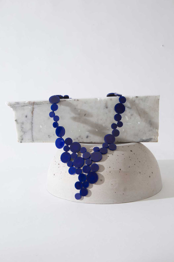 Abstraction Necklace V - Limited edition - Blue