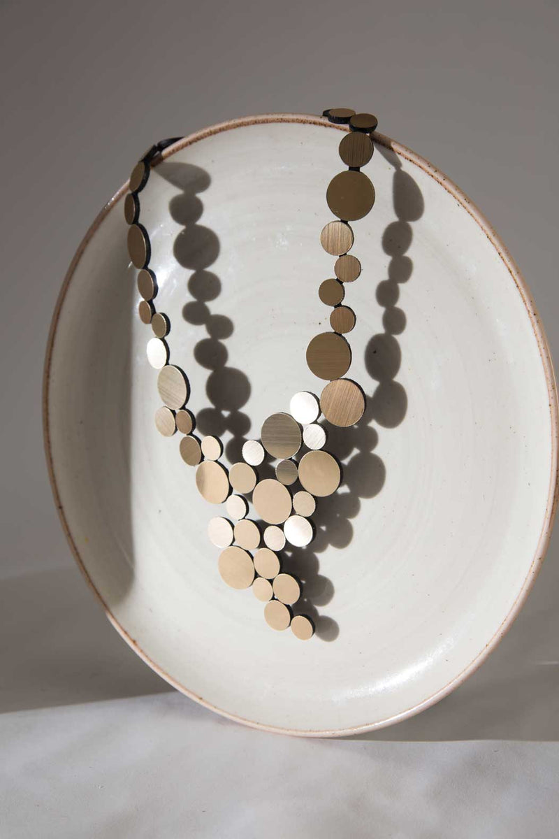 Abstraction Necklace V - Gold
