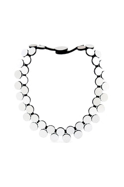 Abstraction Necklace Double Strand