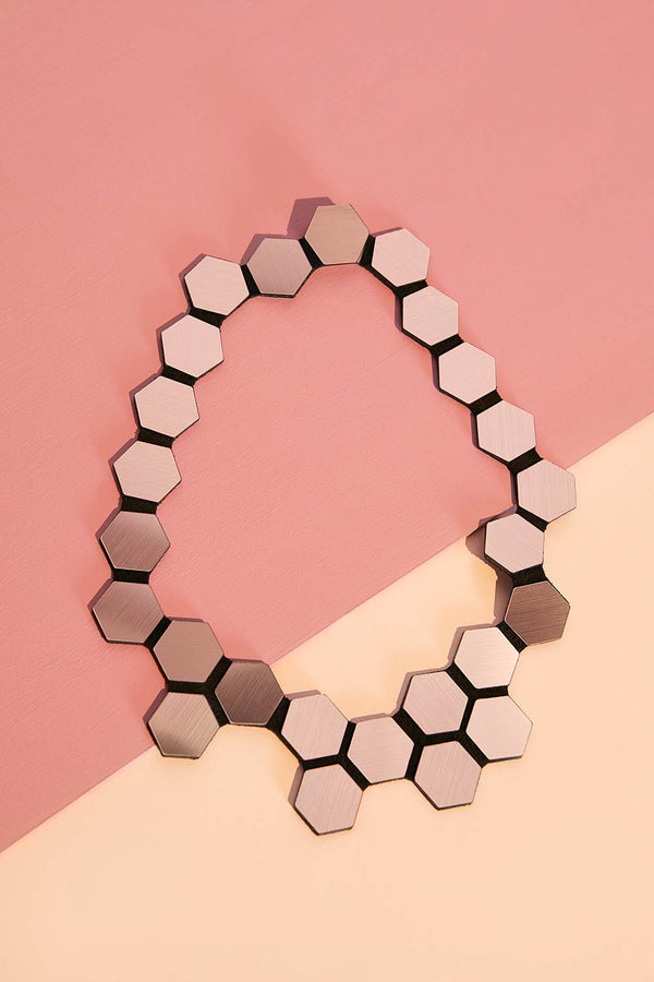 Greta Necklace - Hexagon