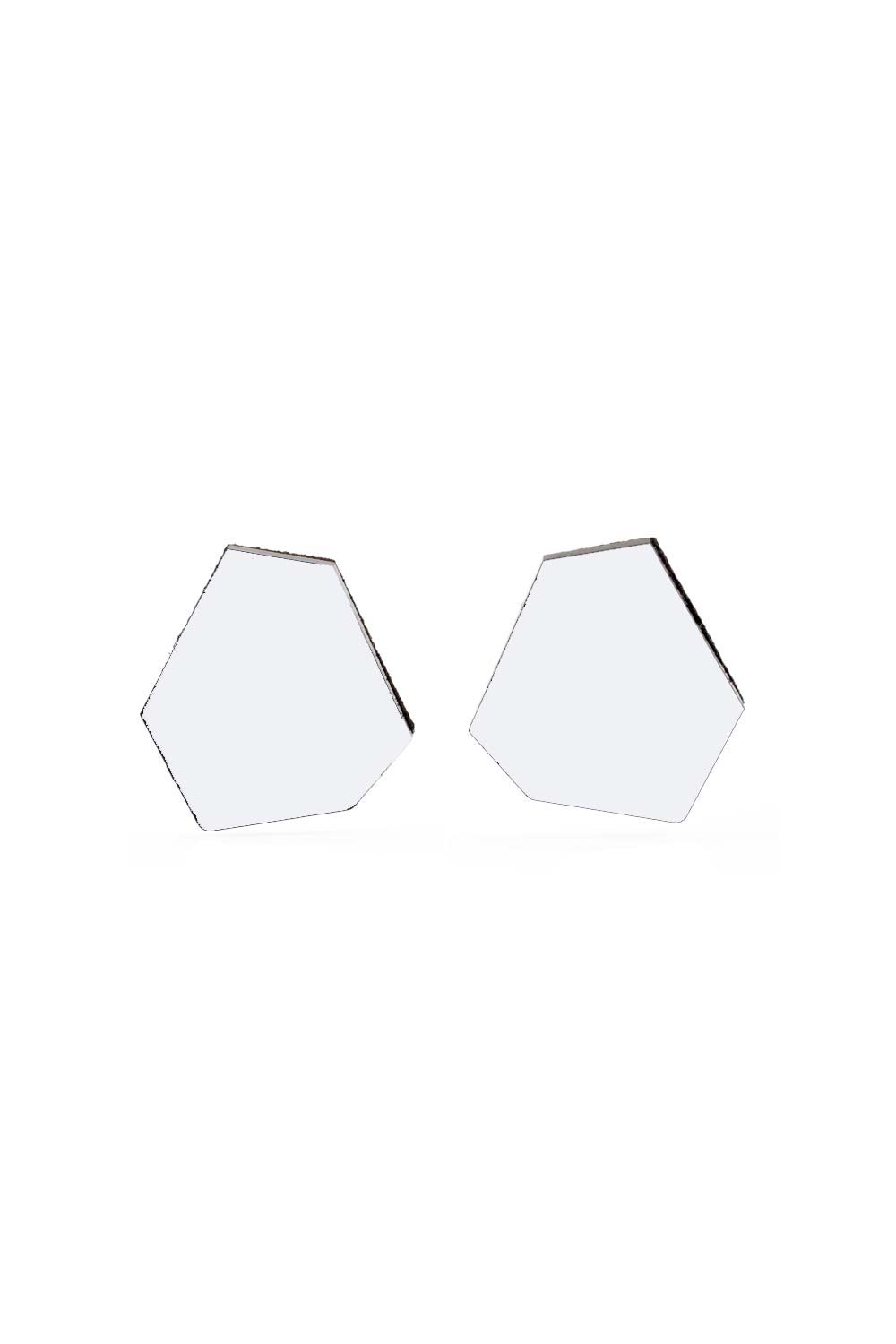 Greta Earrings - Polygon - Small