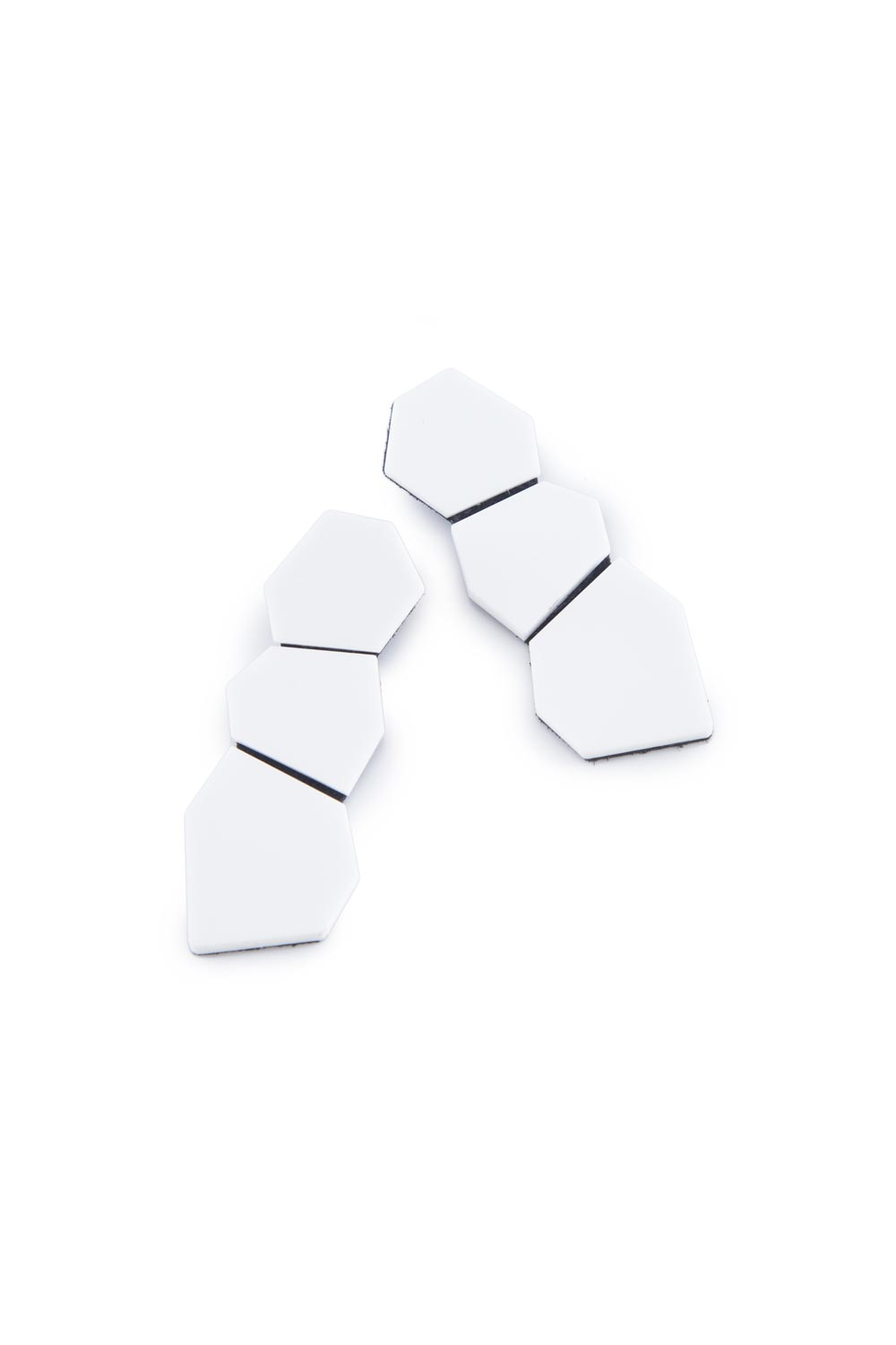 Greta Earrings - Polygon - Large