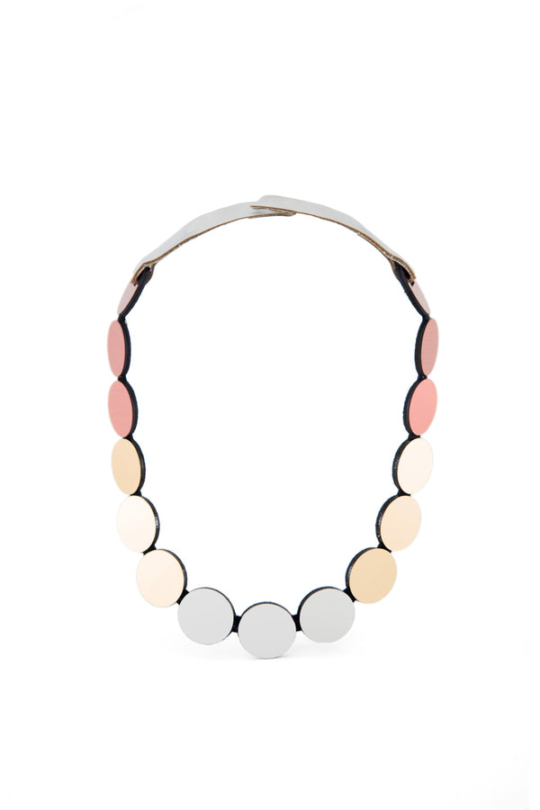 Kaia Necklace Circles Small