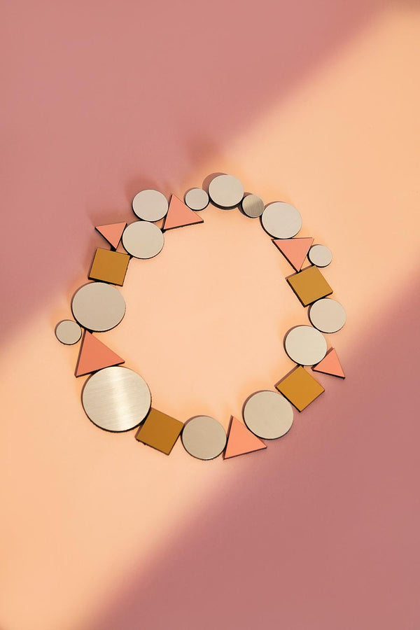 Kaia Necklace - Geo
