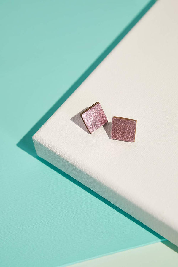 Rainbow Earrings Square