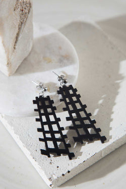 Scarlett Earrings - Black
