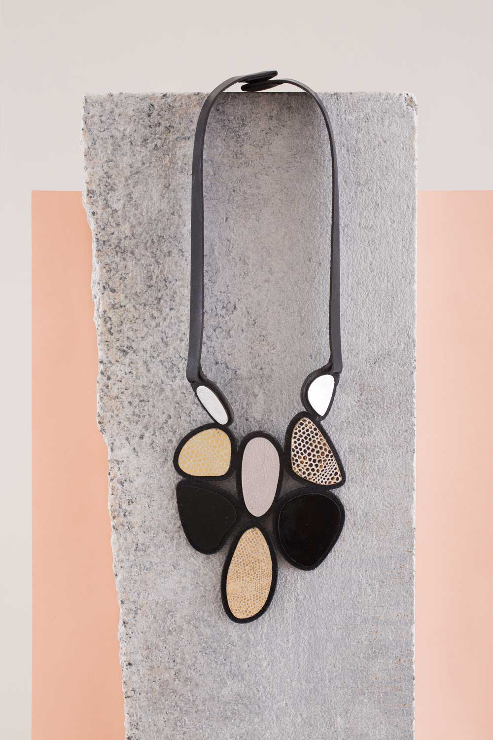 Stone Bib Necklace