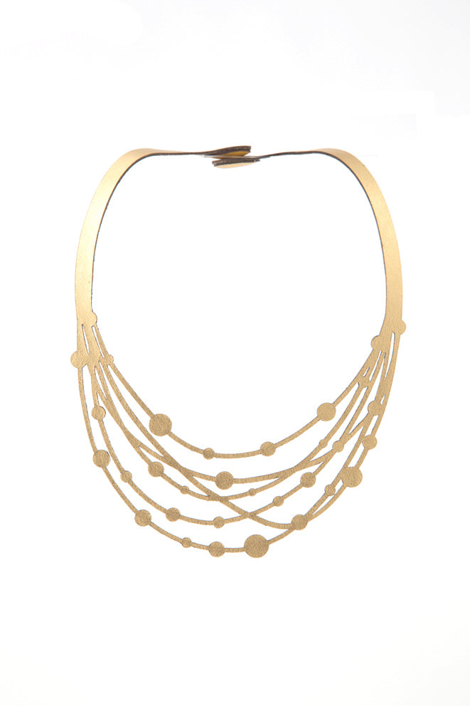 Victoria Threads Necklace by Iskin Sisters