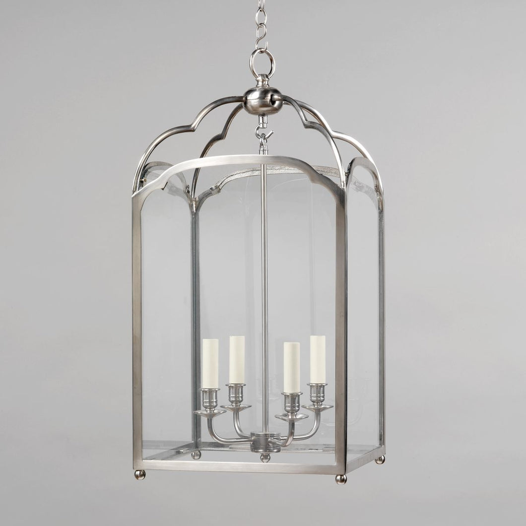 Winslow Lantern - Nickel, Medium