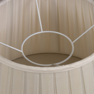 Silk Pleated Lampshade