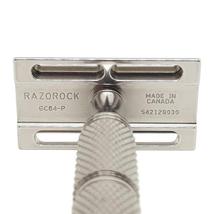 RazoRock Game Changer .84-P DE Safety Razor - Shaving Station
