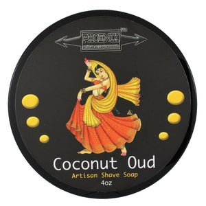 Phoenix Artisan Accoutrements Coconut OUD Shaving Soap 4oz