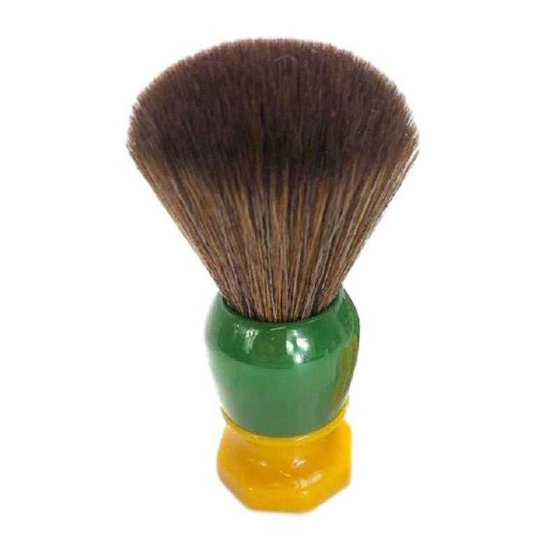 Phoenix Artisan Accoutrements Green Ray Synthetic Shaving Brush - Shaving Station