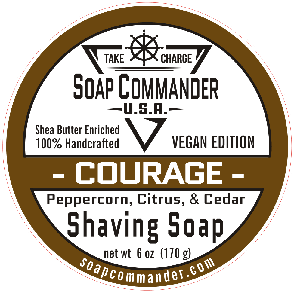Soap Commander Courage Shaving Soap - Shaving Station