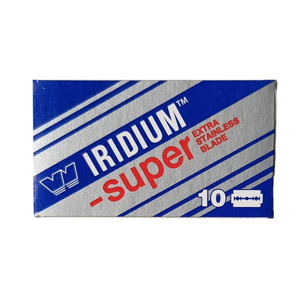 Wizamet Super Iridium Double Edge Razor Blades - Shaving Station
