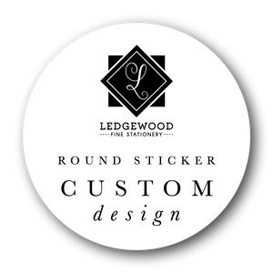 Custom Design Circle Sticker