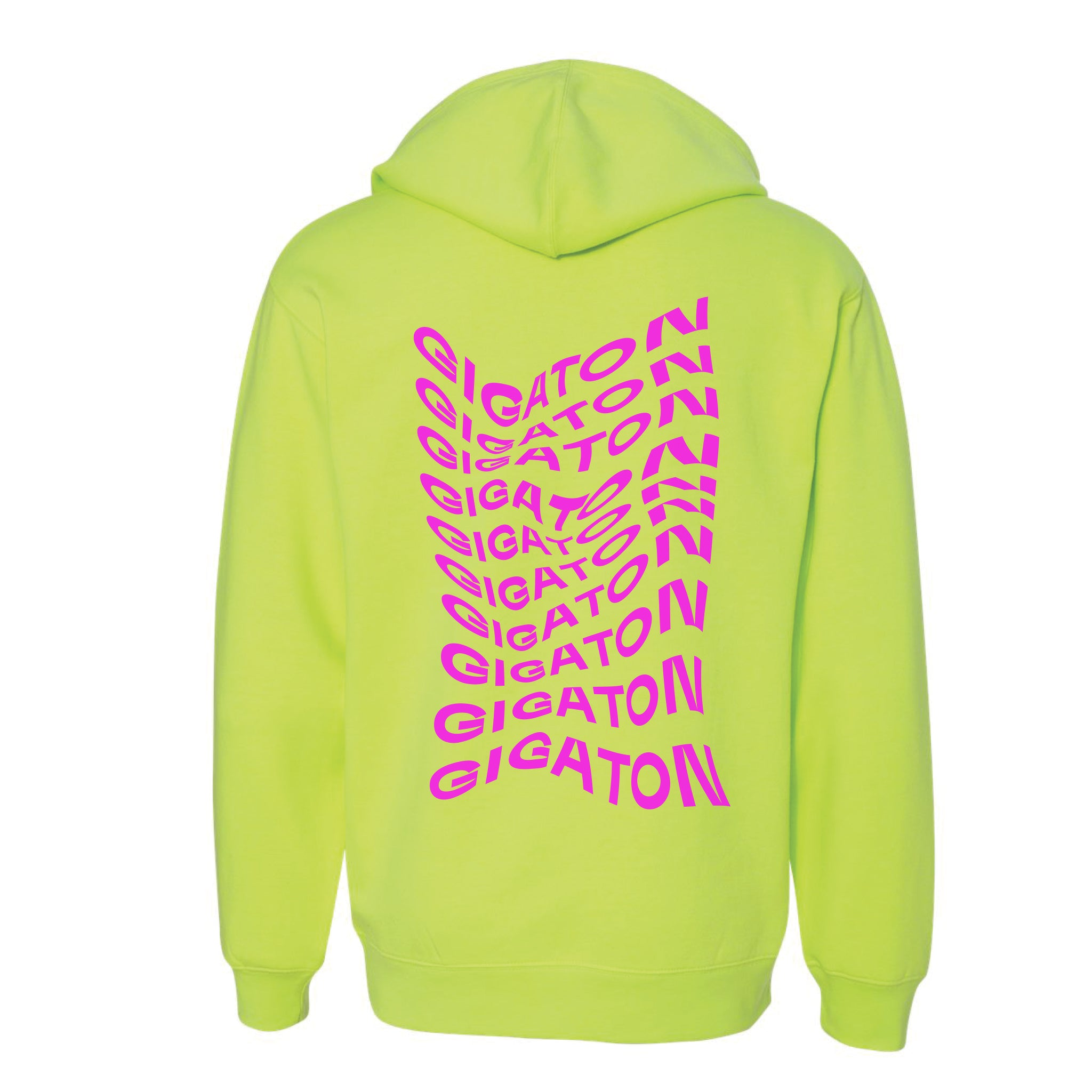 10 GIGATON HOODIE - SAFETY YELLOW