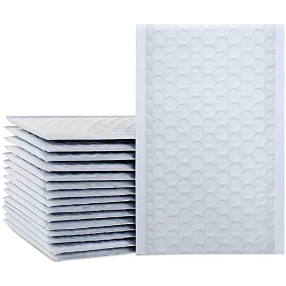 50pcs Poly Bubble Mailers 4x8 Inch Padded Envelopes