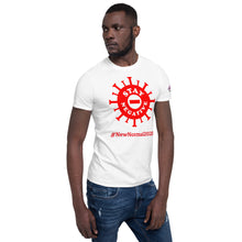 Load image into Gallery viewer, New Normal - Stay Negative - Red - Short-Sleeve Unisex T-Shirt