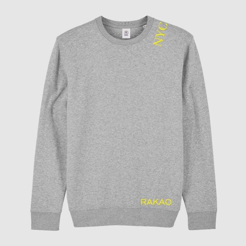 rakao-sweater-grey-nyc-yellow