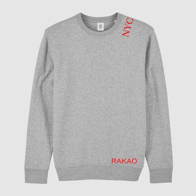 rakao-sweater-grey-nyc-red